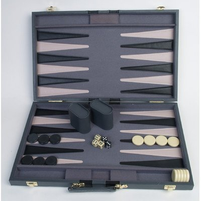 21 inches Backgammon Attache by John N. Hansen Co. [Toy]