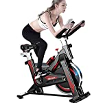 41rdVMt9zWL. SS150 MxZas Cyclette Ultra-Silenzioso Cyclette Interni Home Perdita Cyclette Fitness Equipment Peso Spin Bike (Color : Black, Size : 105x50x102cm)