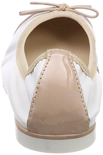 Closed Flats Women's TOZZI Pink premio Ballet 22128 Toe Comb MARCO 596 Rose qB17E