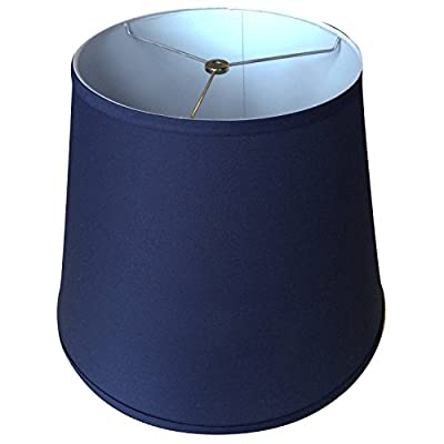 "FenchelShades.com Lampshade 11"" Top Diameter x 17"" Bottom Diameter x 13"" Slant Height with Washer (Spider) Attachment. For Use on Lamps with Harps"