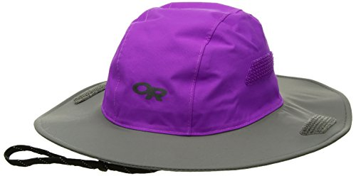 Outdoor Research Kids' Seattle Sombrero Hat, Ultraviolet/Pewter, Medium/Large