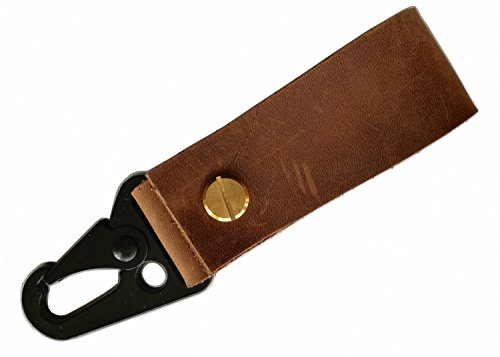 MEEBOY Handmade Leather keychain Belt Keychain Genuine leather car Keychain mb40