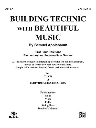 Building Technic With Beautiful Music, Bk 3: -