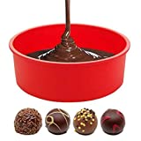 6/8/9'' Silicone Mini Baking Cup Round Bread Mold Cake Pan Muffin Bakeware Mold Baking Tray Mould Random Color (9 inch)