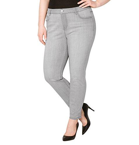 d Skinny Jean in Grey, 20 Grey (Avenue Skinny Jeans)