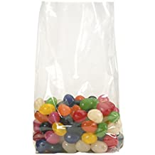 Aviditi PB1601 Polypropylene Gusseted Bag, 12-Inch Length X 4-Inch Width X 18-Inch Height, 2 Millimeter Thick, Clear (Case of 500)