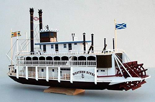 Mississippi Model Kit (FidgetKute Mississippi Steam Boat Cruise Ship Paper Model Do It Yourself DIY)