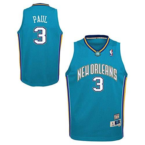 Genuine Stuff New Orleans Pelicans Youth Chris Paul NBA Soul Swingman Jersey - Carolina Blue #3, Youth - Paul Chris Jersey Youth