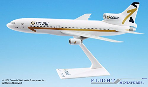 Flight Miniatures Novair Nova Airlines Lockheed Tristar for sale  Delivered anywhere in USA