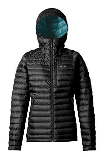 Blueprint Seaglass Long Womens Rab Alpine Jacket Microlight Black EwXEO0qt