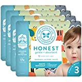 The Honest Company Baby Diapers With TrueAbsorb Technology, Little Forest, Size 3, 108 Count