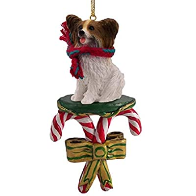 Papillon-Candy-Cane-Christmas-Ornament