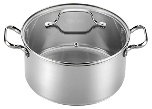 5-Quart Stainless Pot with Lid