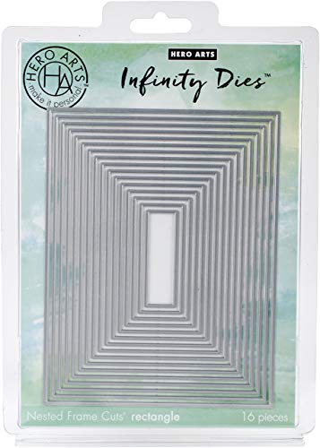 (Hero Arts DI198 Infinity Dies, Nesting Rectangle)