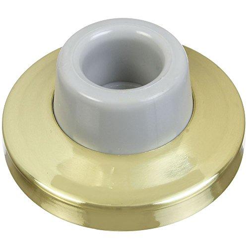 Solid Brass Door Stopper - National Hardware N198-069 V1935 Wall Door Stop in Solid Brass