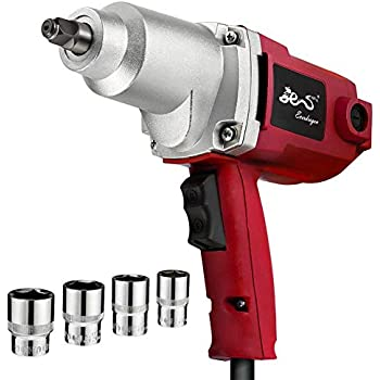 1/2-inch Power Electric Impact Wrench Reversible with 230 ft