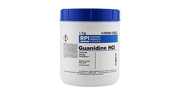 Hidrocloruro de guanidina, 1 kilogramo: Amazon.es: Amazon.es