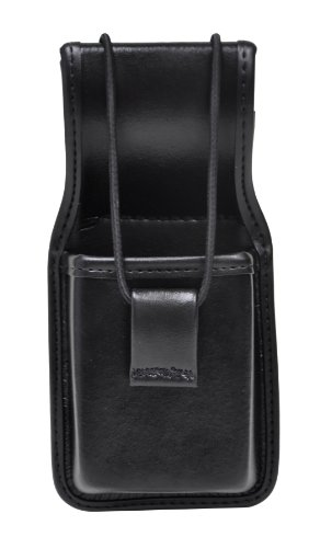 Bianchi Accumold Elite 7914S Universal Radio Holder With Swivel (Plain Black ) (Leather Universal Radio)