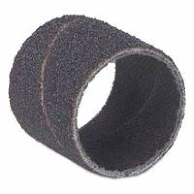 Merit Abrasives Spiral Bands, Aluminum Oxide, 50 Grit, 1/2 X 1 In