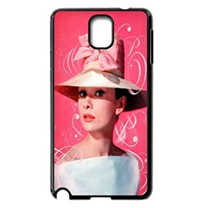 Custom High Quality WUCHAOGUI Phone case Movie & TV Super Star Audrey Hepburn Protective Case For Samsung Galaxy NOTE3 Case Cover - Case-13