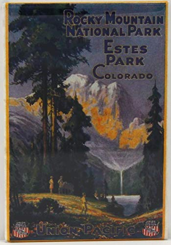 Rocky Mountains National Park Refrigerator Magnet. Estes Park