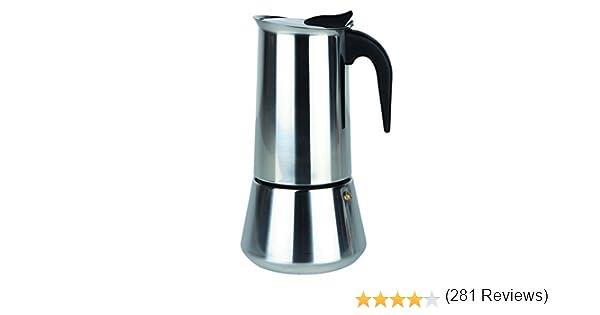 Orbegozo KFI 1200 1250-Cafetera, 12 tazas, Negro, Acero inoxidable: Amazon.es: Hogar