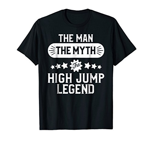 Track T-shirt Sayings (High Jump Shirt Men Funny Track and Field High Jumping Tee)