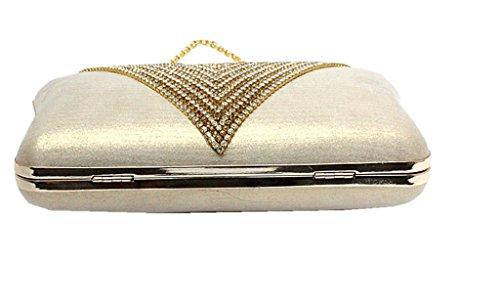 C&T Equipaje de cabina, color Rosa, talla Dorado - dorado
