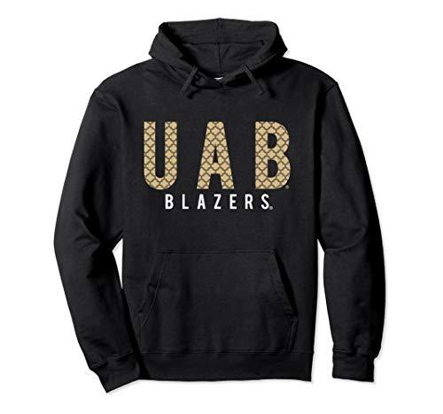 Ncaa Alabama Fleece Hoodie - UAB Blazers Alabama Birmingham NCAA Womens Hoodie 1708CF05