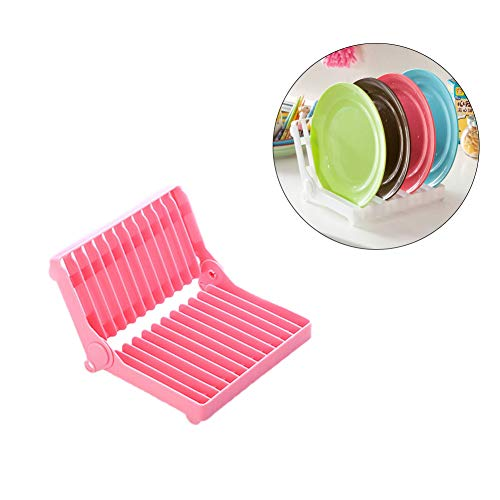 Dish Drying Rack Collapsible Dish Drainer for Drying Glasses