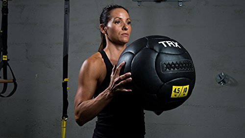 TRX Training Handcrafted Medicine Ball with Reinforced Seam Construction – DiZiSports Store