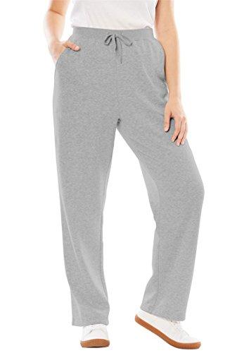 Woman Within Plus Size Better Fleece Sweatpant