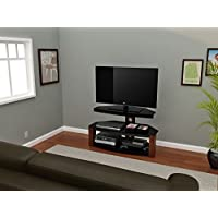 Z-Line Designs Rhine TV Stand, 40-Inch, Brown