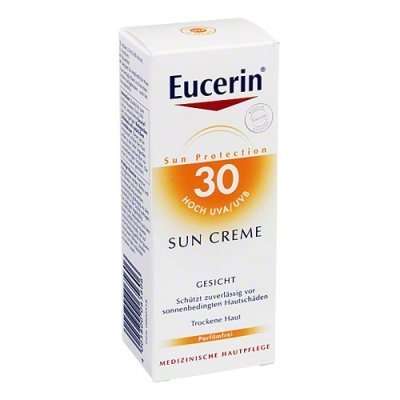 Eucerin Sensitive Protect Face Sun Creme LSF 30, 50 ml Creme