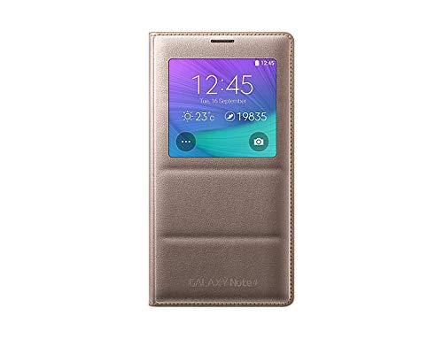 Samsung EF-CN910BPEGWW - Funda con S-View para Samsung Galaxy Note 4, color rosa