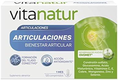 Vitanatur ARTICULACIONES - 120 comprimidos: Amazon.es: Salud y ...