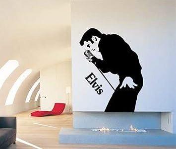 Elvis Presley Music Singer Artist Wall Decal Art Sticker Picture
