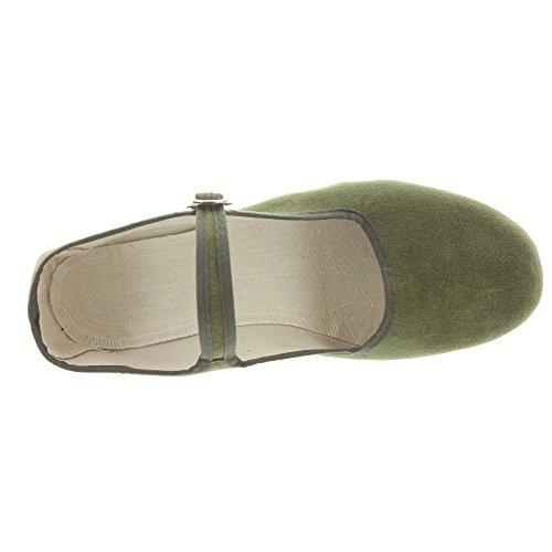 Chine Velours De De Chine Velours Olive Chaussures Chaussures U5qaBnOwq1