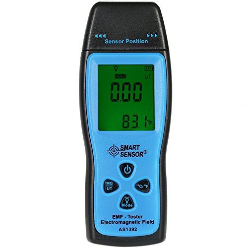 SMART SENSOR AS1392 Handheld Digital LCD Gimax Radiation Dosimeter EMF Tester Electromagnetic Field Radiation Detector