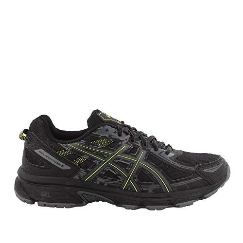 e 6 Running Shoe, Black/Neon/Lime, 14 M US ()