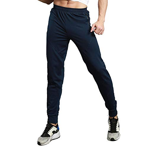 - Mens Joggers Pants - Casual Gym Workout Track Pants Slim Fit Tapered Sweatpants with Pockets