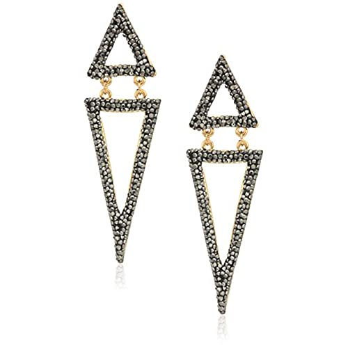 new Panacea Triangle Luxe Drop Earrings for sale