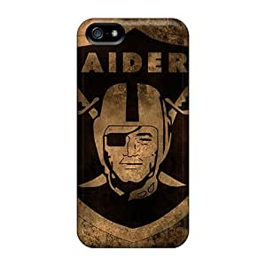 Defender Cases For Iphone 5/5s, Oakland Raiders Pattern
