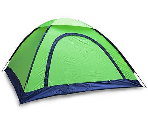 大学生無力復活させるアウトドアテントキャンプキャンプビーチ観光カールーフクライミングシングルテント2-3人テントキャンプ用品ZXCV