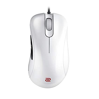 3ebdbcc5a1f BenQ ZOWIE EC1-A Wired Ergonomic Gaming Mouse for Esports, White, Large