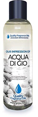 Generic Version of Acqua Di Gio Impression By QualityFragranceOils (4oz) for Men