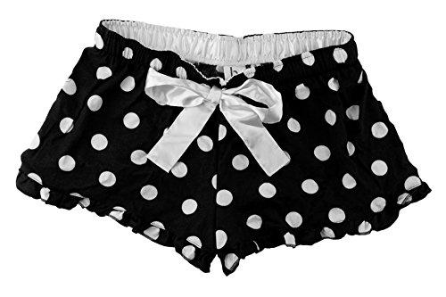 - Hometown Clothing Bundle: Ruffled Flannel Boxer Short & HTC Garment Guide XL-Black Dot
