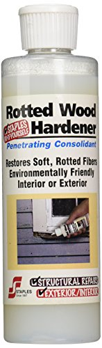 Protective Coating Staples 412 Rotted Wood Hardener, 8-Ounce