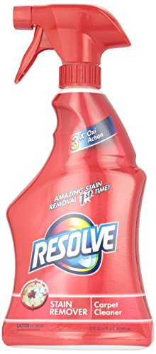 Resolve Carpet Stain Remover, Triple Action, 22 oz