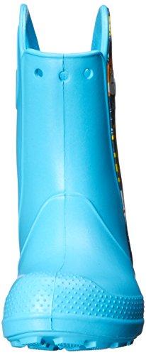 crocs Unisex-Kinder Hndlitsealifbtk Kurzschaft Stiefel Blau (Electric Blue)